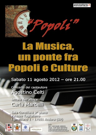 Locandina Popoli recital