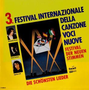 3° Festival Internazionale della Canzone - Voci nuove (1990)