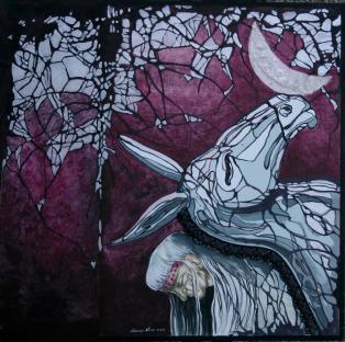 Vera Lobascio La bellezza dell'asino (80x80)
